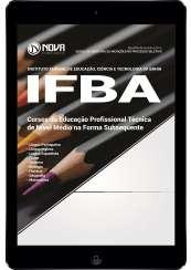 Download Apostila IFBA Pdf - Cursos da Educação Profissional Técnica de Nível Médio na Forma Subsequente