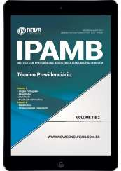 Download Apostila IPAMB-PA Pdf - Técnico Previdenciário