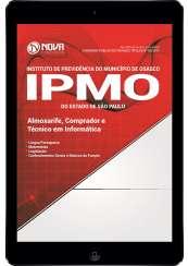 Download Apostila IPMO-SP Pdf - Almoxarife, Comprador e Técnico em Informática