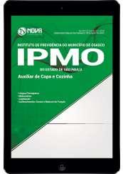 Download Apostila IPMO-SP Pdf - Auxiliar de Copa e Cozinha