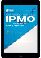Download Apostila IPMO-SP Pdf - Auxiliar de Serviços Gerais