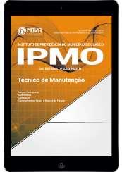 Download Apostila IPMO-SP Pdf - Técnico de Manutenção