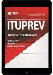 Download Apostila ITUPREV SP Pdf - Analista Previdenciário