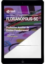 Download Apostila Prefeitura de Florianópolis - SC Pdf - Prof. Auxiliar de Ensino Fundamental