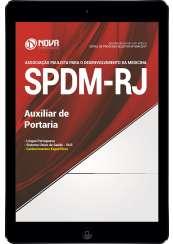 Download Apostila SPDM-RJ Pdf - Auxiliar de Portaria