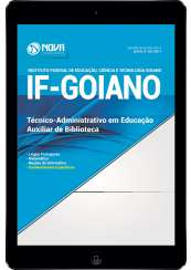 Download Apostila IF Goiano Pdf - Auxiliar de Biblioteca