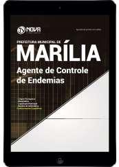 Download Apostila Prefeitura de Marília - SP PDF - Agente de Controle de Endemias