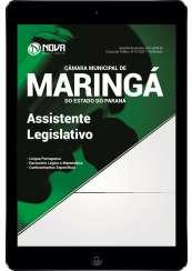 Download Apostila Câmara de Maringá - PR Pdf - Assistente Legislativo