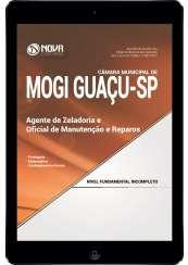 Download Apostila Câmara Municipal de Mogi Guaçu - SP Pdf - Agente de Zeladoria e Oficial de Reparos de Manutenção