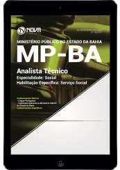 Download Apostila MP BA Pdf - Analista Técnico – Especialidade: Social – Habilitação Específica: Serviço Social