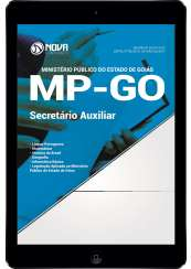 Download Apostila MP-GO Pdf - Secretário Auxiliar