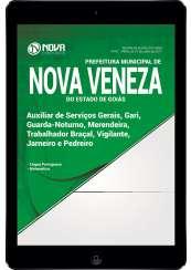 Download Apostila Prefeitura de Nova Veneza - GO Pdf - Cargos de Nível Fundamental Incompleto