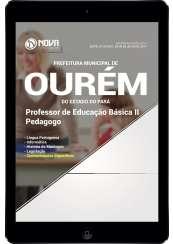 Download Apostila Pref. de Ourém-PA Pdf - Professor de Educação Básica II - Pedagogo