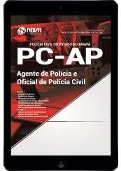 Download Apostila PC-AP Pdf - Agente de Polícia Civil e Oficial de Polícia Civil