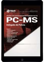 Download Apostila PC-MS Pdf - Delegado de Polícia
