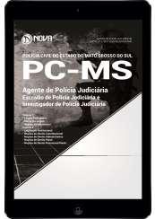 Download Apostila PC-MS Pdf - Agente de Polícia Judiciária (Escrivão e Investigador)