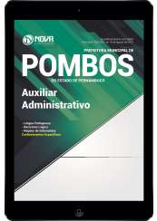 Download Apostila Prefeitura de Pombos - PE Pdf - Auxiliar Administrativo