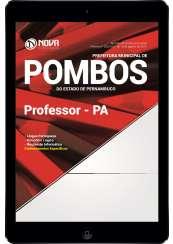 Download Apostila Prefeitura de Pombos - PE Pdf - Professor PA