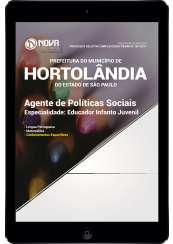 Download Apostila Prefeitura de Hortolândia - SP Pdf - Agente de Políticas Sociais – Educador Infanto Juvenil