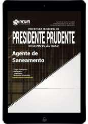 Download Apostila Prefeitura de Presidente Prudente - SP Pdf - Agente de Saneamento