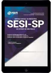 Download Apostila SESI-SP Pdf- Professor de Educação Básica II e III: Prof. Tutor de Ed. a Distância / Prof. Tutor de Ed. a Distância Espanhol