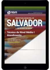 Download Apostila Pref. de Salvador- BA Pdf - Técnico de Nível Médio I - Atendimento