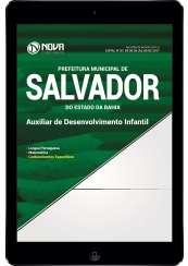Download Apostila Pref. de Salvador-BA Pdf - Auxiliar de Desenvolvimento Infantil