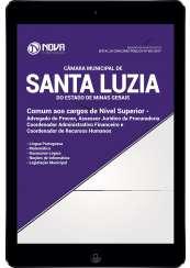 Download Apostila Câmara de Santa Luzia - MG Pdf - Comum Aos cargos de Nível Superior