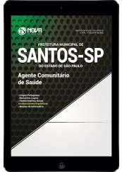 Download Apostila Prefeitura Municipal de Santos - SP Pdf - Agente Comunitário de Saúde
