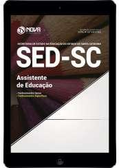 Download Apostila SED-SC Pdf - Assistente de Educação