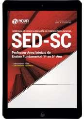 Download Apostila SED-SC Pdf - Professor: Anos Iniciais do Ensino Fundamental (1º ao 5º Ano)
