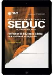 Download Apostila SEDUC-MT Pdf - Professor de Educação Básica: Educação Física