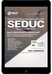 Download Apostila SEDUC-MT Pdf - Apoio Administrativo Educacional