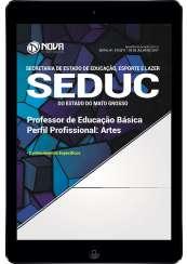 Download Apostila SEDUC-MT Pdf - Professor de Educação Básica: Arte