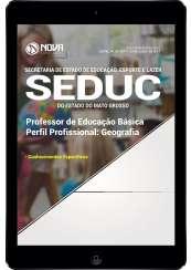 Download Apostila SEDUC-MT Pdf - Professor de Educação Básica - Geografia