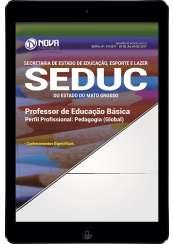 Download Apostila SEDUC-MT Pdf - Professor de Educação Básica: Pedagogo
