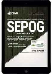 Download Apostila SEPOG-RO Pdf - Comum aos Cargos de Nível Superior