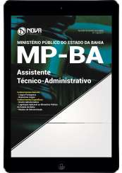 Download Apostila MP BA 2017 Pdf - Assistente Técnico Administrativo