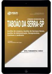 Download Apostila Câmara de Taboão da Serra SP Pdf -Auxiliar de Limpeza