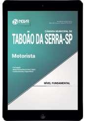 Download Apostila Câmara de Taboão da Serra SP PDF - Motorista
