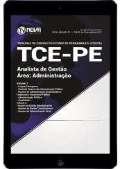 Download Apostila TCE-PE Pdf - Analista de Gestão – Área: Administração