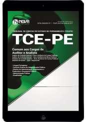 Download Apostila TCE-PE Pdf - Comum aos Cargos de Auditor e Analista