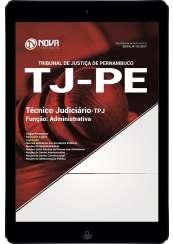 Download Apostila TJ-PE Pdf - Técnico Judiciário - TPJ / Função Administrativa