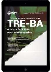 Download Apostila TRE-BA Pdf - Analista Judiciário - Área: Administrativa