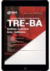 Download Apostila TRE-BA Pdf - Analista Judiciário - Área: Judiciária