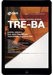 Download Apostila TRE-BA Pdf - Analista Judiciário – Área: Apoio Especializado – Especialidade: Engenharia Civil