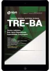 Download Apostila TRE-BA Pdf - Técnico Judiciário – Área: Apoio Especializado – Especialidade: Enfermagem