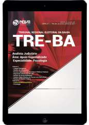 Download Apostila TRE-BA Pdf - Analista Judiciário – Área: Apoio Especializado – Especialidade: Psicologia