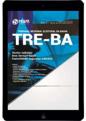 Download Apostila TRE-BA Pdf - Técnico Judiciário – Área: Serviços Gerais – Especialidade: Segurança Judiciária
