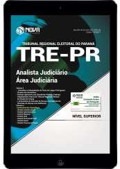 Download Apostila TRE-PR Pdf - Analista Judiciário – Área Judiciária